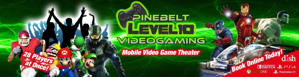 Pine Belt Level 10 Video Gaming – Game Truck Birthday Parties & More! – Hattiesburg, Mississippi